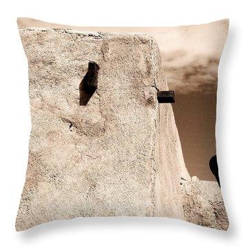 Castolon Adobe Ghost Throw Pillow