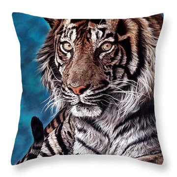 Castro Throw Pillow by Linda Becker