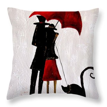 Cat 726 Throw Pillow