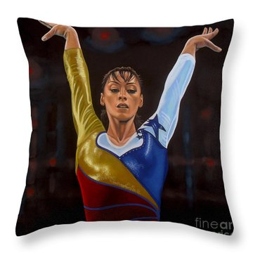 Catalina Ponor Throw Pillow by Paul Meijering
