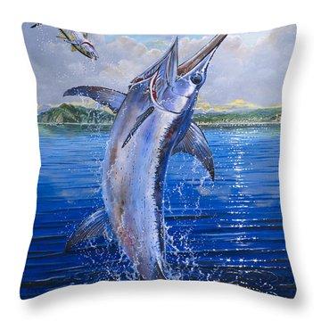 Catalina Sword Off0045 Throw Pillow