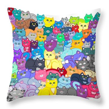 Catastrophy Throw Pillow