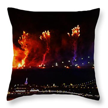 Catch A Fire Throw Pillow