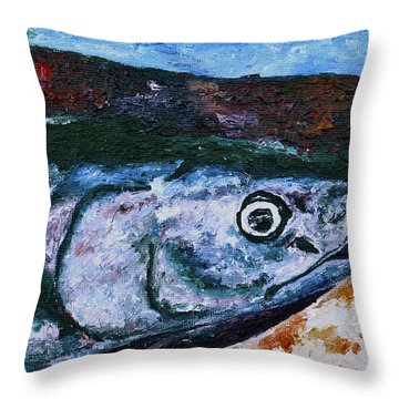 Catch Of The Day 1 Throw Pillow