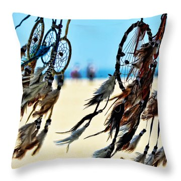 Catch The Dream Throw Pillow