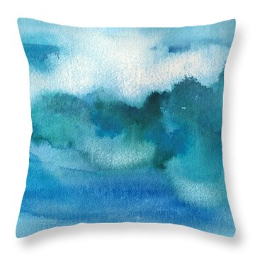Catch The Wave Throw Pillow