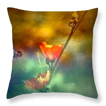 Catch You Twice  Throw Pillow