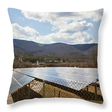 Throw Pillow featuring the photograph Catching Rays  by Carol Lynn Coronios