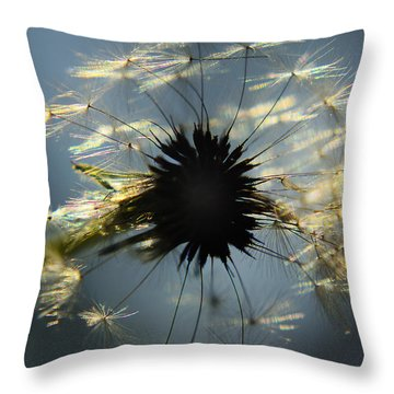 Catching Some Sun Throw Pillow by Camille Lopez