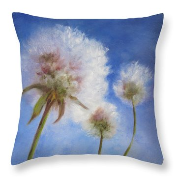 Catching The Sun Throw Pillow