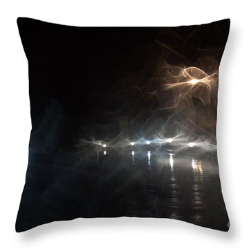 Catering Entrance Throw Pillow
