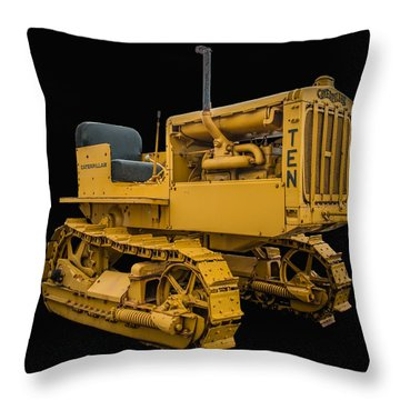 Caterpillar Ten Throw Pillow