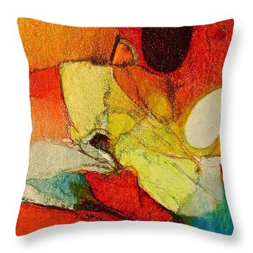 Caterpillar  Vision Throw Pillow