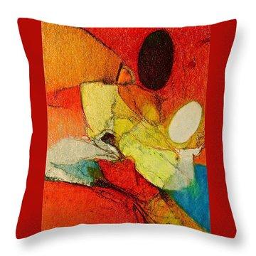 Caterpillar  Vision Throw Pillow