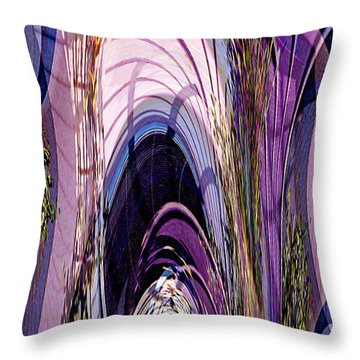 Cathedral 1 Throw Pillow by Ursula Freer