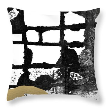 Cathedral- Abstract Painting Throw Pillow