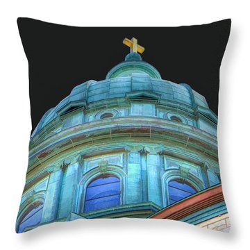 Cathedral Dome Throw Pillow