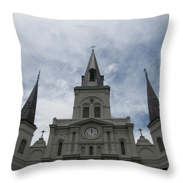 Throw Pillow featuring the photograph Cathedral I by Beth Vincent