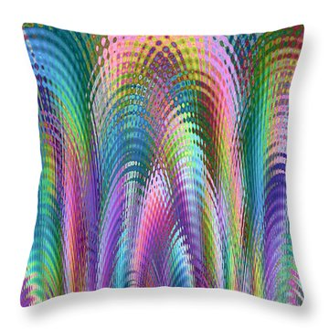 Cathedral Throw Pillow by Mariarosa Rockefeller