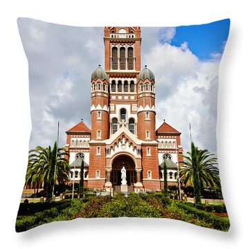 Cathedral Of Saint John The Evangelist Throw Pillow by Scott Pellegrin