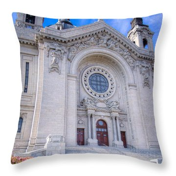 Cathedral Of Saint Paul II Throw Pillow