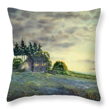 Cathy Come Home Throw Pillow
