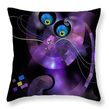 Cats 006-13 - Marucii Throw Pillow