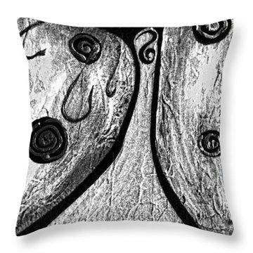 Cats 584 Throw Pillow by Marek Lutek