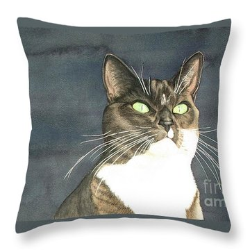 Cats Eyes Throw Pillow