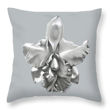 Cattleya I - Sweet Dreams Throw Pillow