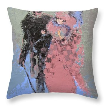 Catwalk Throw Pillow