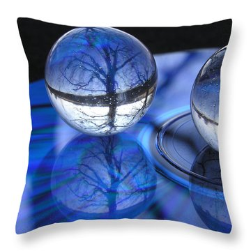 Caught In Time Throw Pillow by Shannon Story