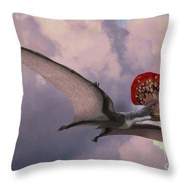 Paleozoology Throw Pillows