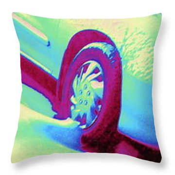 Cavalier In Motion Throw Pillow by Pamela Hyde Wilson