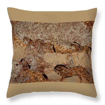 Cave 2 Throw Pillow