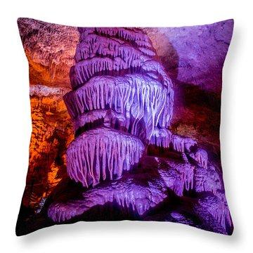 Cave Monster Throw Pillow