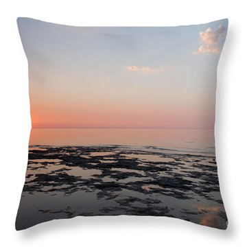 Cave Point Pools Throw Pillow