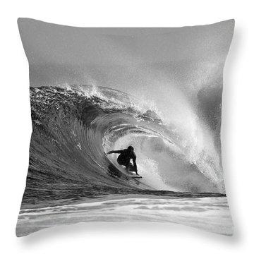 Surfers Throw Pillows