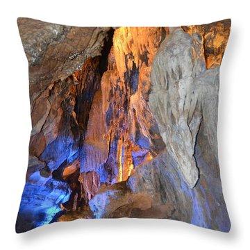 Cavern Of Sidhe Throw Pillow