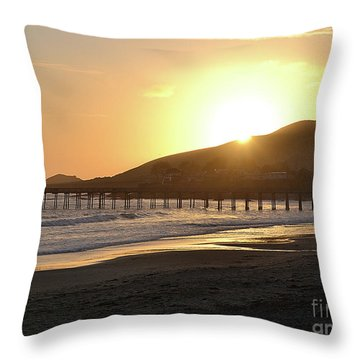 Cayucos Throw Pillow by Suzette Kallen