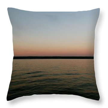 Cayuga Sunset Throw Pillow