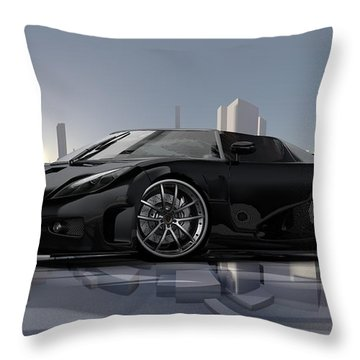 CCX Throw Pillow by Louis Ferreira