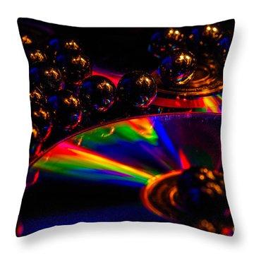 Cd Art 3 Throw Pillow