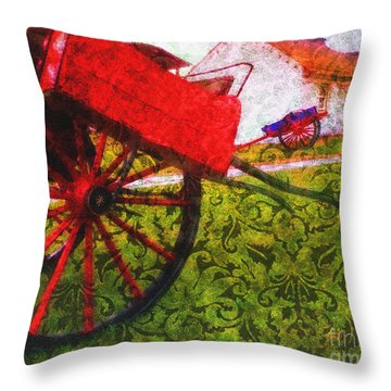Cead Mile Failte  Throw Pillow