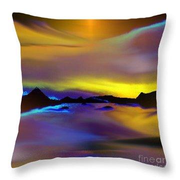 Cebu Sunset Throw Pillow