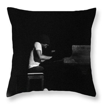 Cecil Taylor 2 Throw Pillow