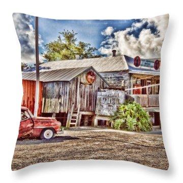 Cecil's Throw Pillow by Scott Pellegrin