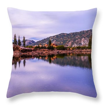 Cecret Reflection Throw Pillow