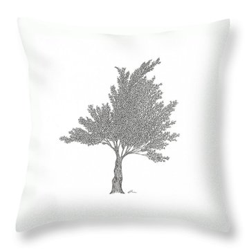 Cedar Throw Pillow