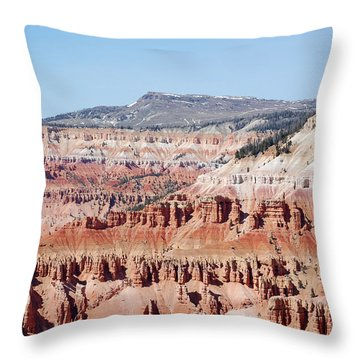 Cedar Breaks Up Close 3 Throw Pillow